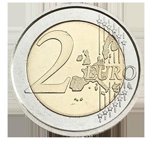 2 евро 2005 года «Ватикан. Международный день молодежи»