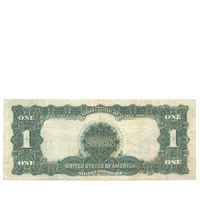 Бона 1 доллар 1899 года «Silver Certificate» аверс