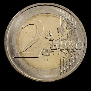 2 евро 2009 года «Федеральные земли Германии: Саар»