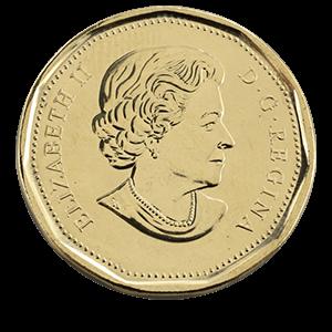 1 доллар 2017 года «100 лет клубу Торонто Мейпл Ливз»