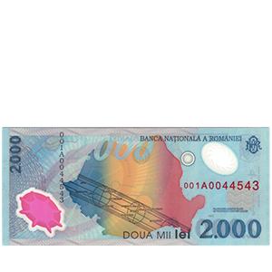 2000 лей 1999 года