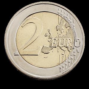 2 Евро 2018 года «Финляндия. Пейзаж Коли »