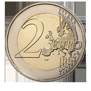2 евро 2018 года «Франция. Симона Вейль»