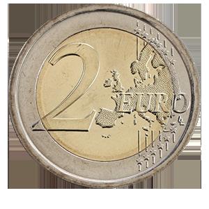 2 евро 2017 года «Италия. 70 лет конституции Италии»