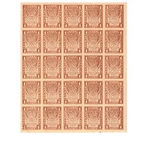 1 рубль 1919 года «СЦЕПКА – БЛОК - 25 штук»