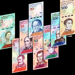 Набор банкнот 2018 года «Венесуэла»