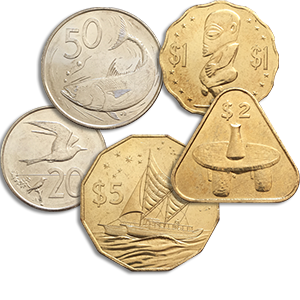 Набор монет 2015 года «Острова Кука»