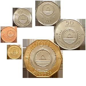 Набор монет 1994 года «Кабо-Верде»