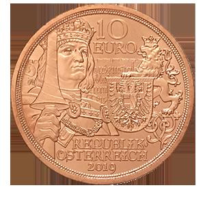 10 евро 2017 года «Австрия. Рыцарство»