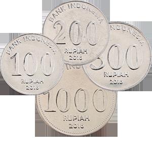 Набор монет 2016 года «Индонезия»