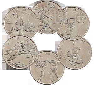 Набор монет 100 йен 2020 года «Япония. XXXII ЛЕТНИЕ ОЛИМПИЙСКИЕ ИГРЫ И XVI ЛЕТНИЕ ПАРАЛИМПИЙСКИЕ ИГРЫ В ТОКИО 2020»