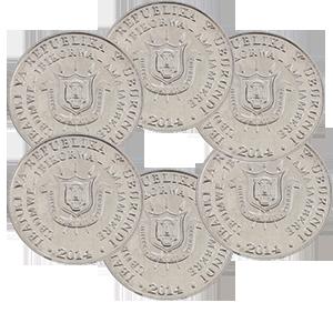 Набор монет 2014 года «Бурунди»