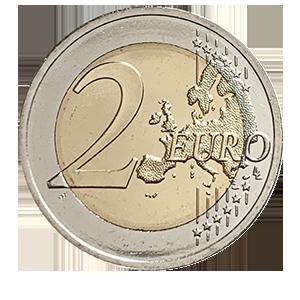 2 евро 2020 года «Эстония. 200 лет со дня открытия Антарктиды»