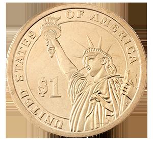 1 доллар 2020 года «41-ый Президент Джордж Буш старший»